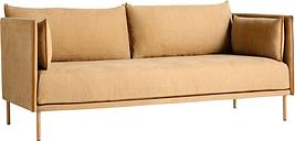 HAY Silhouette sofa 2-seater, Linara 142/Silk cognac - oiled oak
