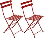 Fermob Bistro Metal chair, 2 pcs, chili