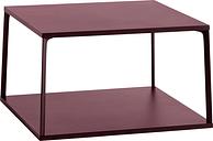 Hay Eiffel coffee table, square, 65 x 65 cm, dark brick