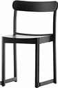 Artek Atelier chair, black