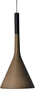Foscarini Aplomb pendant lamp, brown