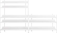 Muuto Compile shelf, Configuration 7, white