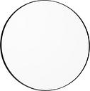AYTM Circum mirror 70 cm, clear - black