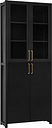 Lundia Moments cabinet, high, black