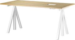 String Furniture String Works height adjustable table 160 cm, oak