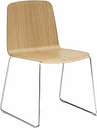 Normann Copenhagen Just Chair, oak - chrome