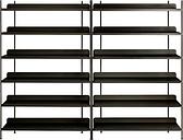 Muuto Compile shelf, Configuration 8, black
