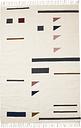 Ferm Living Kelim rug, Triangles, 140 x 200 cm