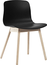 Hay About A Chair AAC12, black - matt lacquered oak