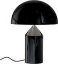 Oluce Atollo 239 table lamp, black