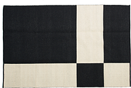 Johanna Gullichsen Uranus rug 160 x 240 cm, black