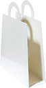 Maze Magbag magazine rack, white