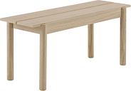 Muuto Linear Wood bench 110 x 34 cm, oak