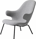 &Tradition Catch JH14 lounge chair, Hallingdal 65/130