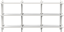 Menu Stick System 3 x 3, white