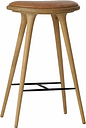 Mater High Stool, 74 cm, soaped oak