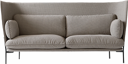 &Tradition Cloud High Back LN7 sofa, 3-seater, Colline 228