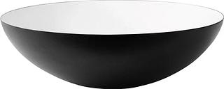 Normann Copenhagen Krenit bowl 7,1 l, black-white