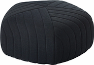 Muuto Five pouf, dark grey