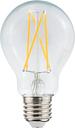 Airam LED Decor clear standard bulb 7,5W E27 720lm, dimmable