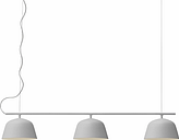 Muuto Ambit Rail lamp, grey