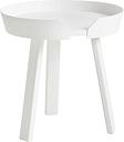 Muuto Around coffee table, small, white