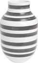 Kähler Omaggio vase, large, granite grey