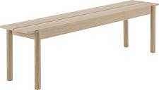 Muuto Linear Wood bench 170 x 34 cm, oak