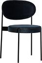 Verpan Series 430 chair, dark blue