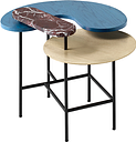 &Tradition Palette JH8 table, blue
