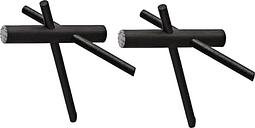 Normann Copenhagen Sticks hooks 2 pcs, black