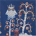 Iittala Taika paper napkin 33 cm, blue