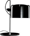 Oluce Coupé 2202 table lamp, black