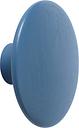 Muuto Dots Wood coat hook, pale blue