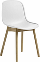 Hay Neu13 chair, white - matt lacquered ash