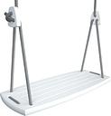 Lillagunga Lillagunga Grand swing, white - grey rope