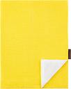 Langø Pillowcase, linen, yellow-white