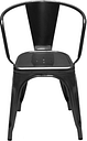 Tolix A56 chair, black