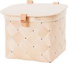 Verso Design Lastu birch basket with lid, S
