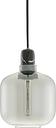 Normann Copenhagen Amp pendant, small, smoke - black