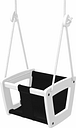 Lillagunga Lillagunga Toddler swing, white - black seat