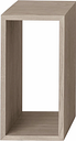 Muuto Stacked 2.0 shelf module, small, oak