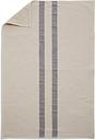 Skagerak Stripes towel 50 x 100 cm, cream / dark blue