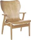 Artek Domus lounge chair, lacquered birch