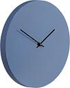 Muoto2 Kiekko Suede wall clock, Neptunus blue - black