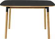 Normann Copenhagen Form table 120 x 120 cm, black-oak