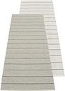 Pappelina Carl rug 70 x 180 cm, grey - fossil grey