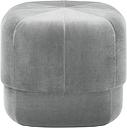 Normann Copenhagen Circus pouf, small, grey velour