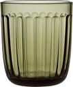 Iittala Raami tumbler 26 cl, 2 pcs, moss green