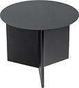 HAY Slit table, round, black